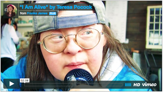 """I Am Alive"" by Teresa Pocock"